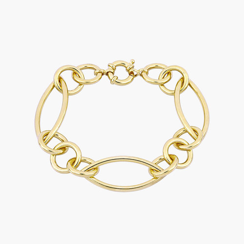Reyna Link Bracelet - Gold Plating product photo