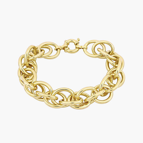 Haisley Link Bracelet - Gold Plating product photo