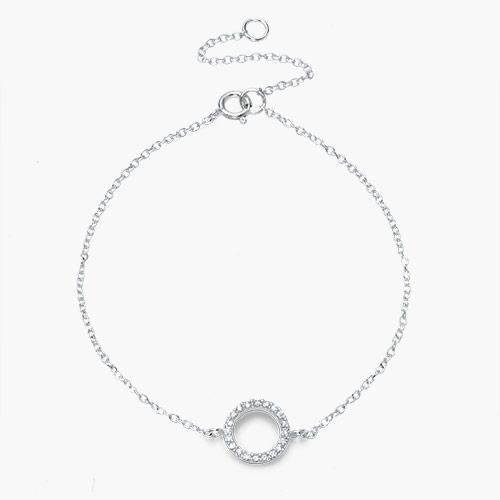 Eclipse Bracelet, Silver