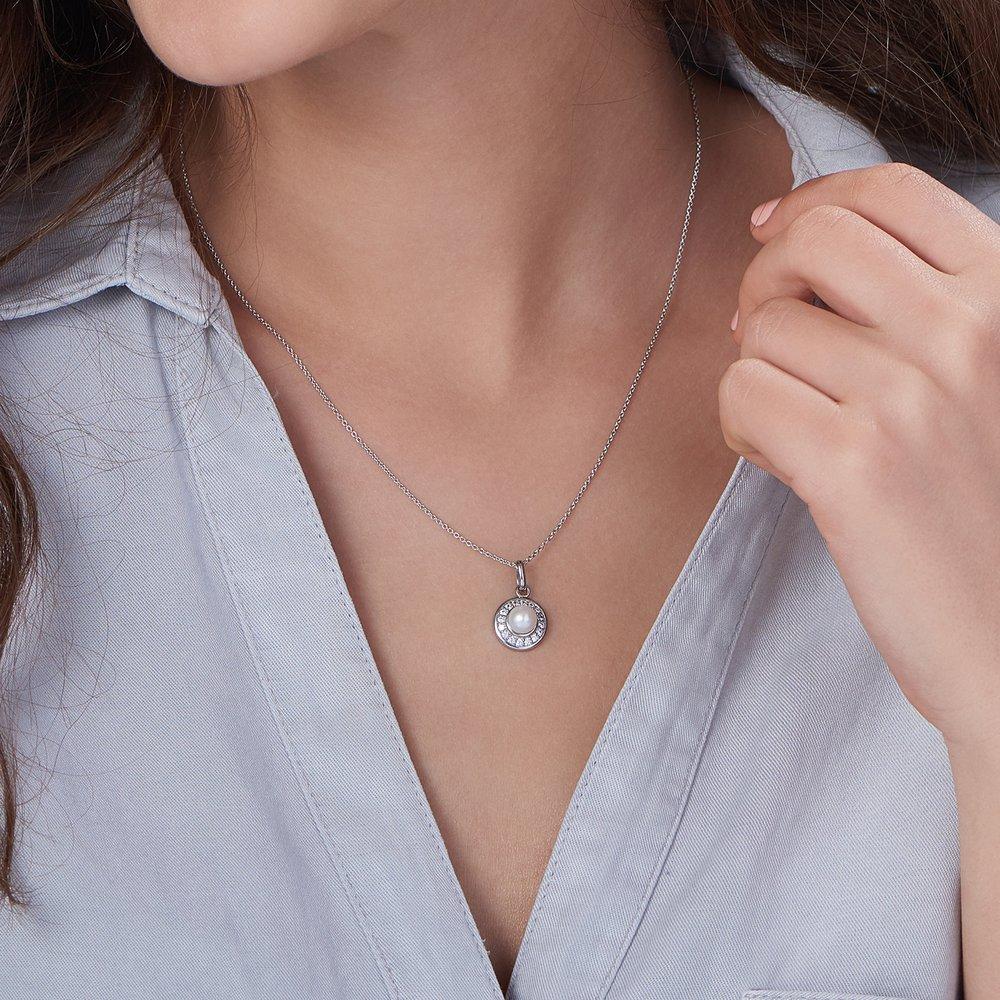 Illuminate Necklace, Silver - 2