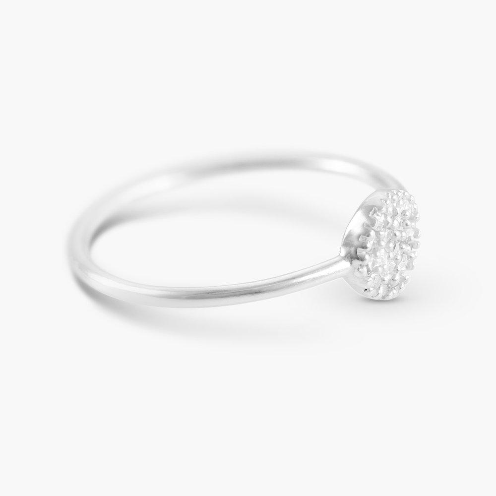 Mini Stardust Ring, Silver - 1