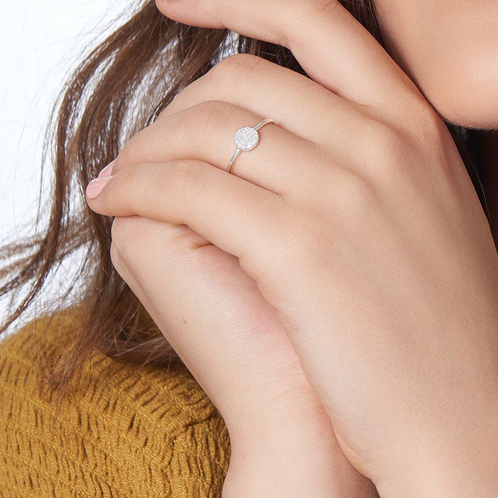 Mini Stardust Ring, Silver - 3