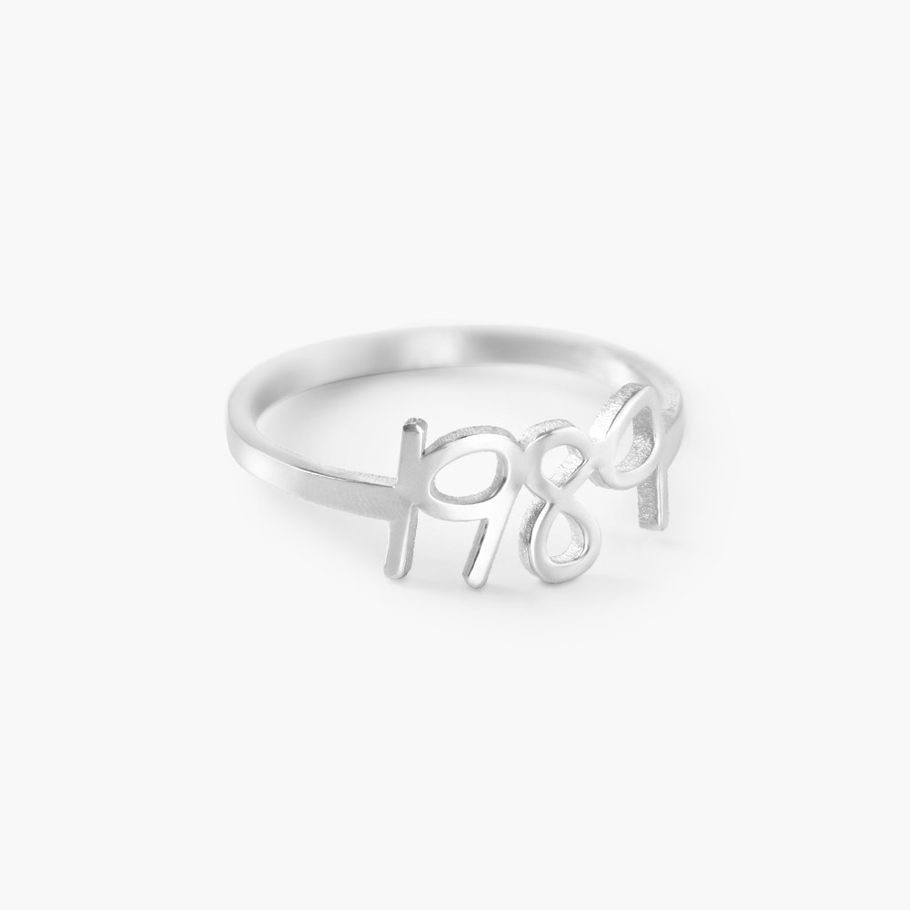 Pixie Name Ring, Silver - 1
