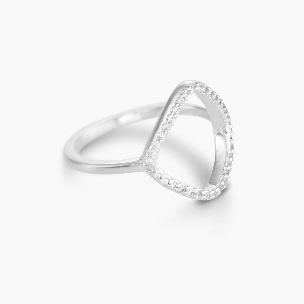 Siren Ring, Silver - 1
