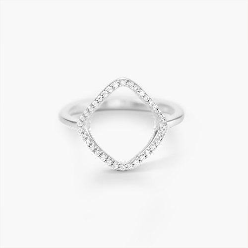 Siren Ring, Silver