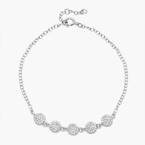 Stardust Bracelet, Silver