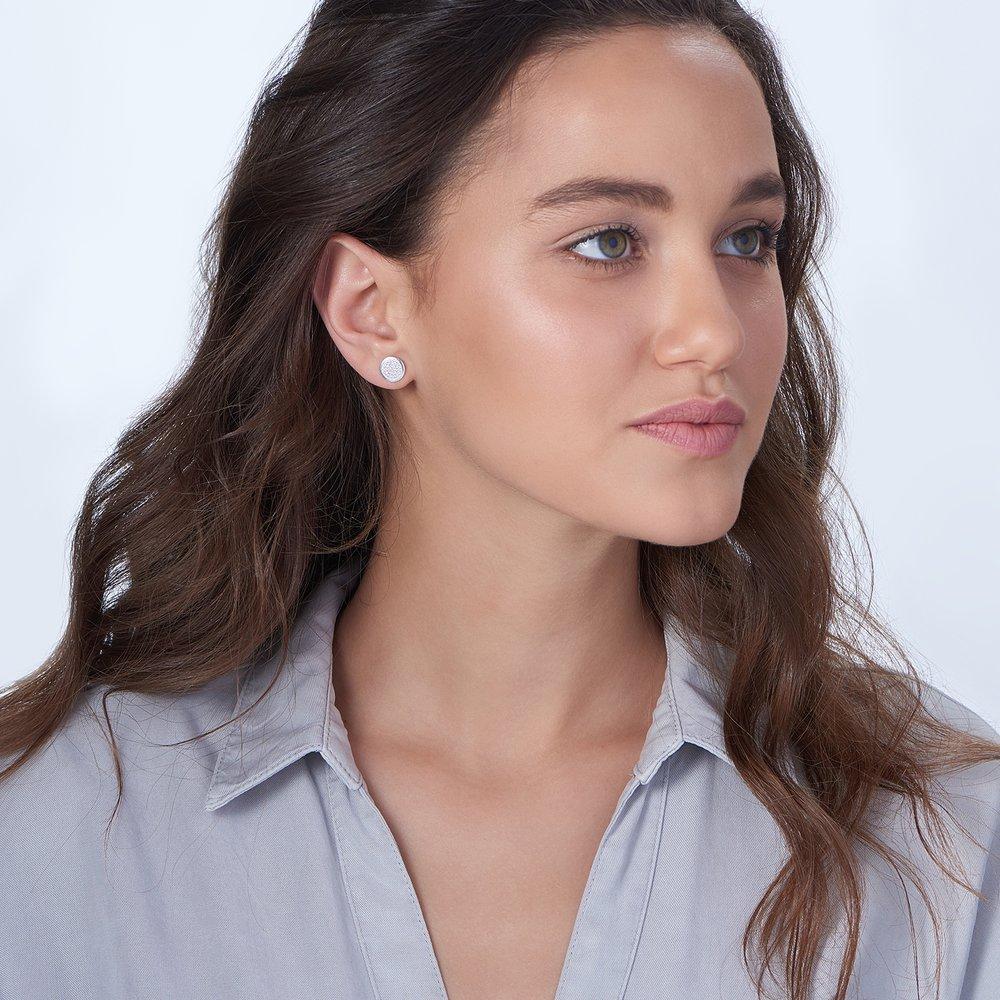 Stardust Earrings, Silver - 2