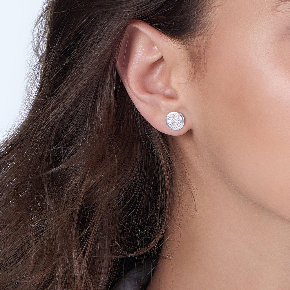 Stardust Earrings, Silver - 3