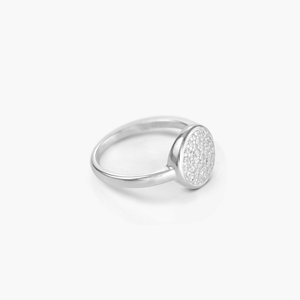 Stardust Ring, Silver - 1