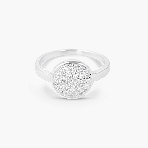 Stardust Ring, Silver