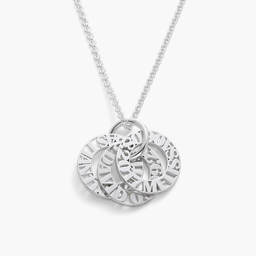 Tokens of Love Necklace, Silver