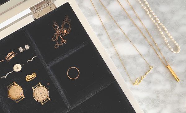 Oak and Luna Jewelry Box
