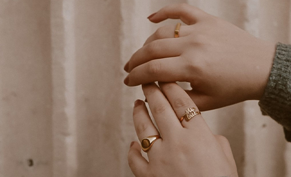 Two is Better Than One Name Ring